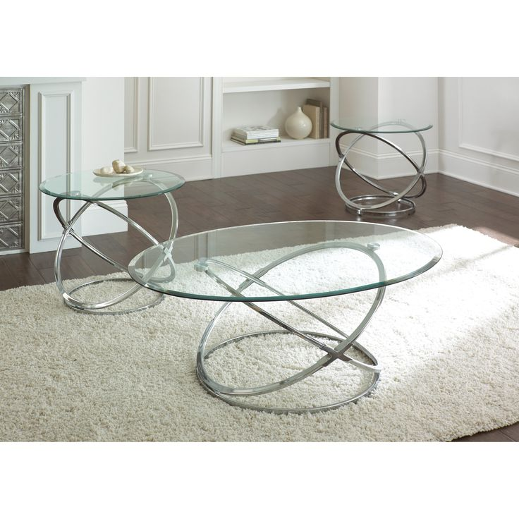 Couchtisch Glas Chrom Rund Have To Have It. Steve Silver Orion Oval Chrome And Glass