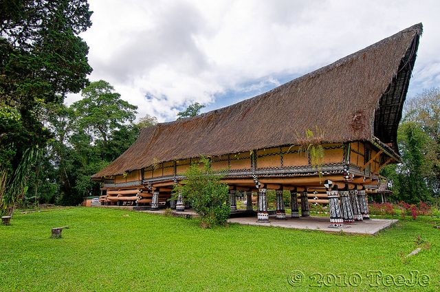 Rumah Bolon Batak Toba Rumah Bolon Or Long House Of Batak Tribe Chieftain, North