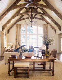 241 best images about Ceiling Trusses and Arched Beams on ...