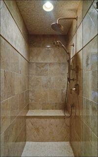 25+ best ideas about Shower no doors on Pinterest | Modern ...