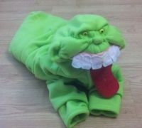 Slimer inspired dog costume from Ghostbusters by amysewsit ...