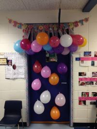 Teacher birthday door decoration | Teachers pet ...