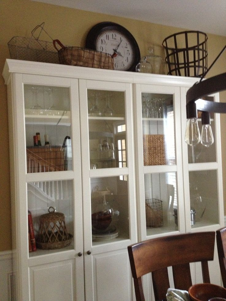 Ikea Hack Sideboard China Cabinet From Ikea | Dining Room | Pinterest | China