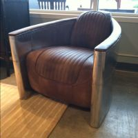 Aviator leather man cave chair | Manly things | Pinterest ...
