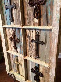 42 Wooden Window Frame Crafts Ideas - Tierra Este   88202