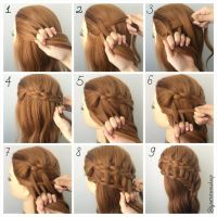 How To Do A Ladder Braid Step By Step | step ladder braid ...