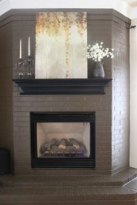 25+ best ideas about Painted brick fireplaces on Pinterest ...