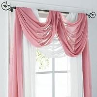 Best 25+ Scarf Valance ideas on Pinterest | Curtain scarf ...