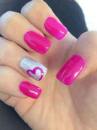 25+ best ideas about Heart nail designs on Pinterest | Diy ...