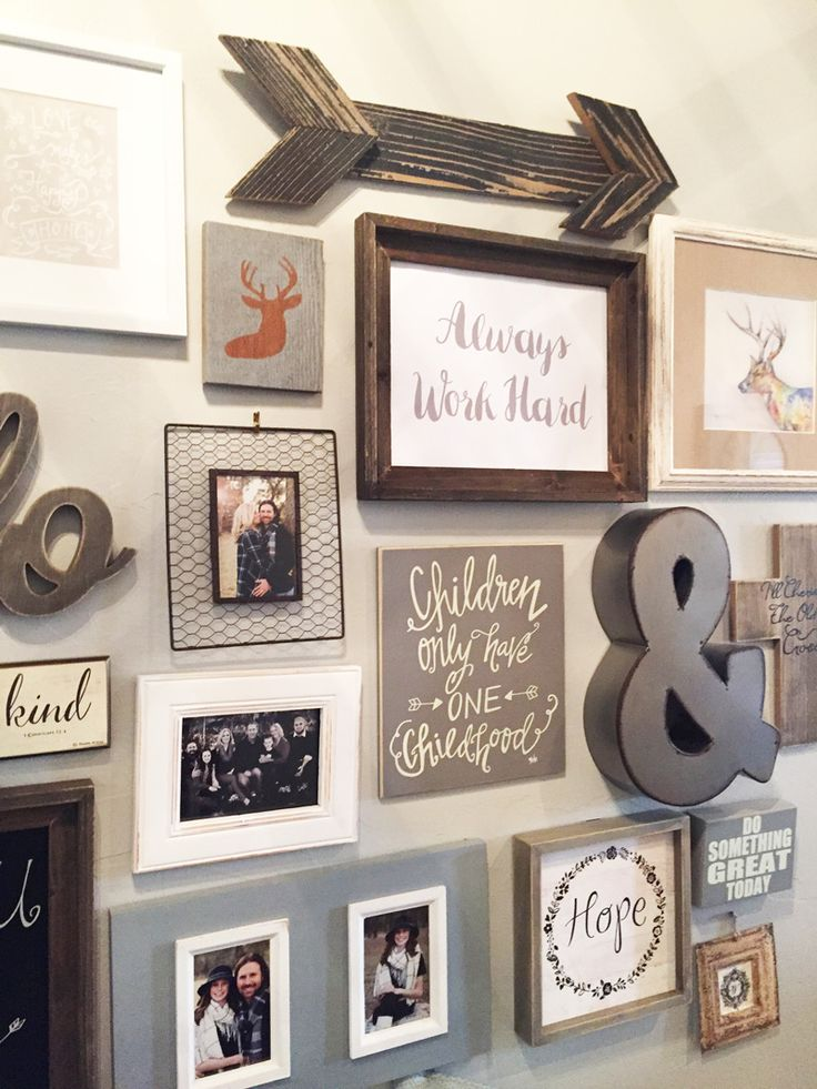17 Best ideas about Wall Collage Decor on Pinterest