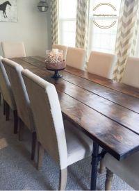 Best 20+ Farmhouse table chairs ideas on Pinterest ...