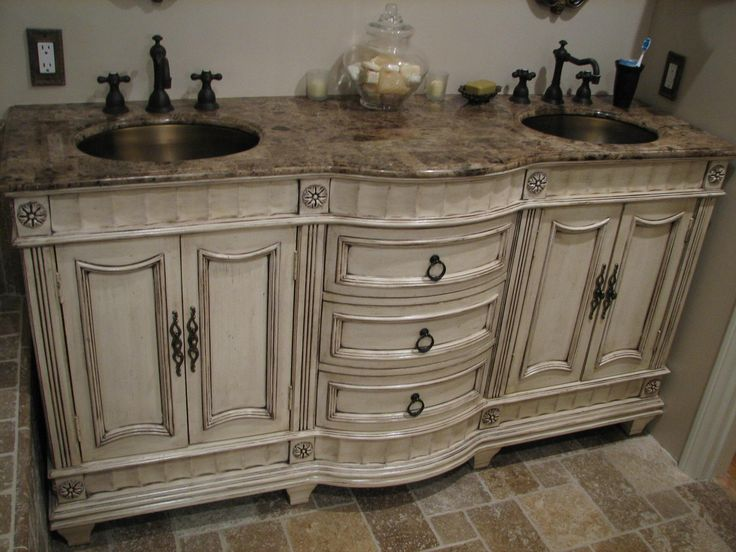 French Country Vanity Sink Yes Please A Home Shabby