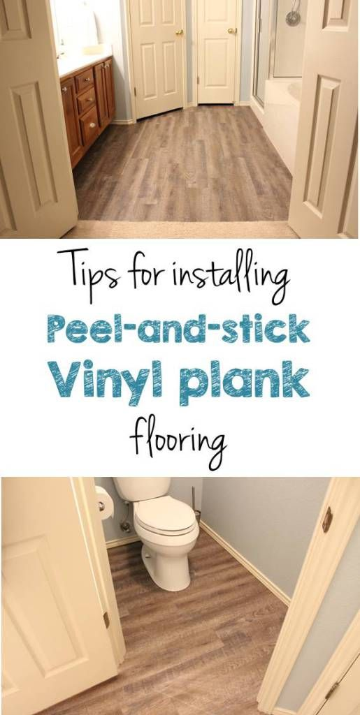Peel And Stick Vinyl Plank Flooring Diy Vinyls Bye Bye