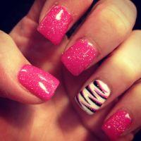 25+ Best Ideas about Zebra Nails on Pinterest   Zebra nail ...
