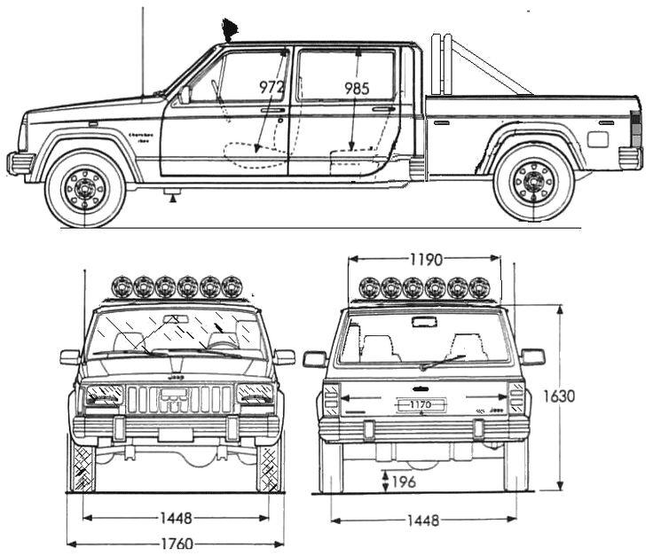 willys jeep cj5 Schaltplang