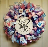 1000+ ideas about Baby Shower Wreaths on Pinterest ...