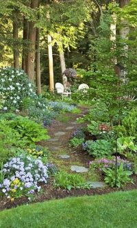 25+ best ideas about Woodland Garden on Pinterest
