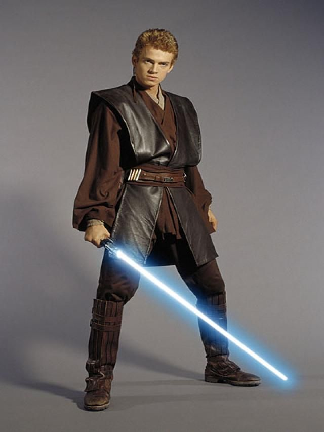 Anakin Skywalker Jedi Anakin Skywalker Episode 2 Costume -- Good Shot Of The