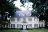 White House with gray shutters | from the outside looking ...