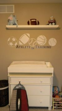 25+ Best Ideas about Sports Nursery Themes on Pinterest
