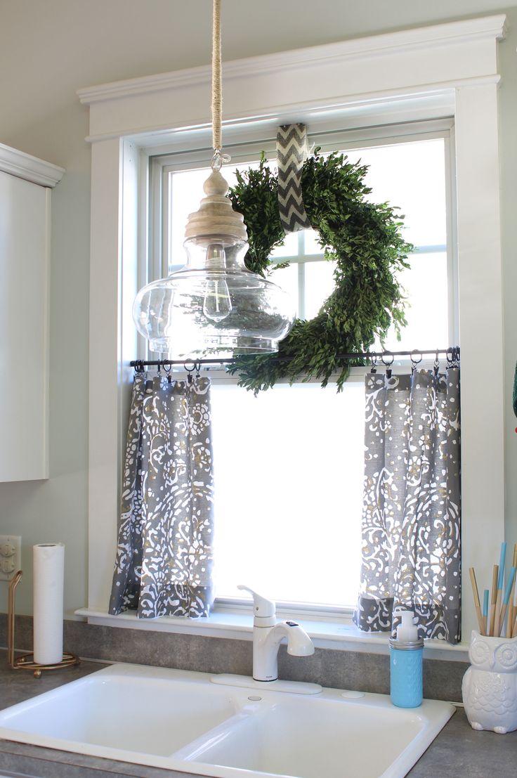 25+ best ideas about Bathroom window curtains on Pinterest