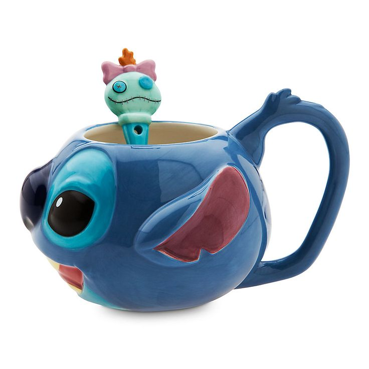 Bettwäsche Disney Princess Stitch Mug And Spoon Set From Disney Store For $14.95