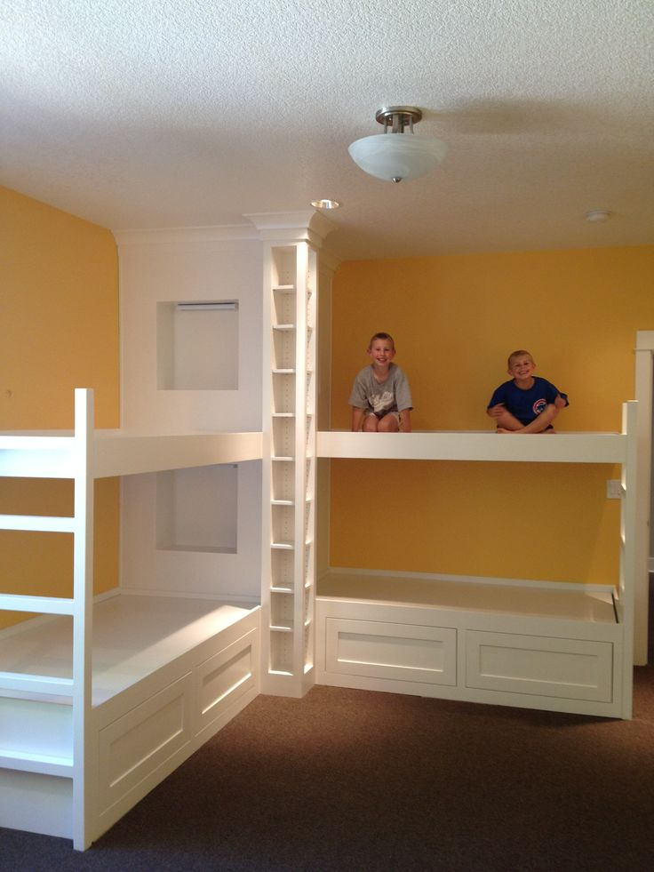 47 Best Images About Bunk Beds Shared Spaces On