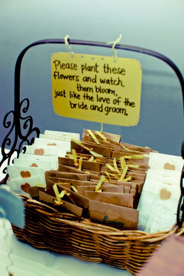 1000+ Ideas About Seed Wedding Favors On Pinterest   Wedding