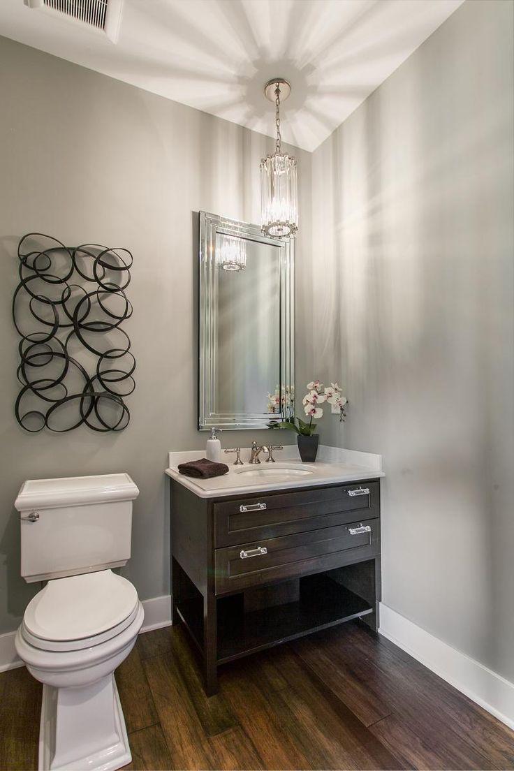 lucite hardware transitional bathroom laura tutun interiors