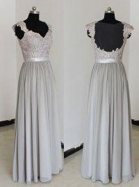 25+ Best Ideas about Grey Bridesmaid Dresses on Pinterest ...