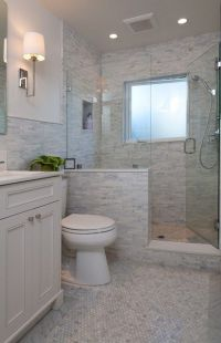 Best 25+ Half wall shower ideas on Pinterest