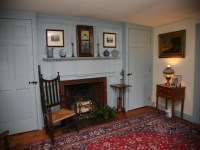 Colonial era paneling and cupboards | Study | Pinterest