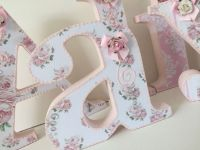 25+ best ideas about Decorated Wooden Letters on Pinterest ...