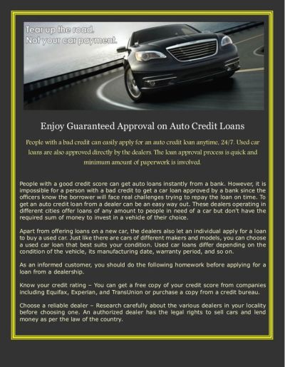 17 Best images about Auto Credit Loans on Pinterest | Stables, Used cars and Cars