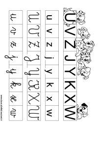Oltre 25 fantastiche idee su Lettere dell'alfabeto su ...