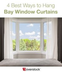 Best Way To Hang Curtains On A Bay Window | Curtain ...