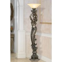 Mermaid Torchiere Floor Lamp $700 Because who wouldn't ...