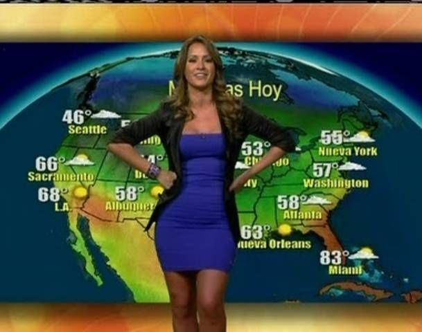 weather channel women dressed up pictures