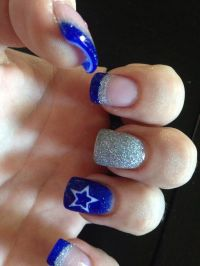 Best 25+ Dallas Cowboys Nails ideas on Pinterest   Cowboy ...