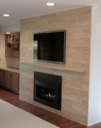 Sant Agostino 6 x 24 plank Travertine tile in beige on ...