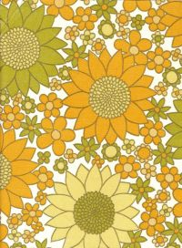 American Hippie Art - 70's Flower pattern |  Art ...