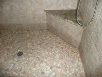 17 Best ideas about River Rock Shower on Pinterest