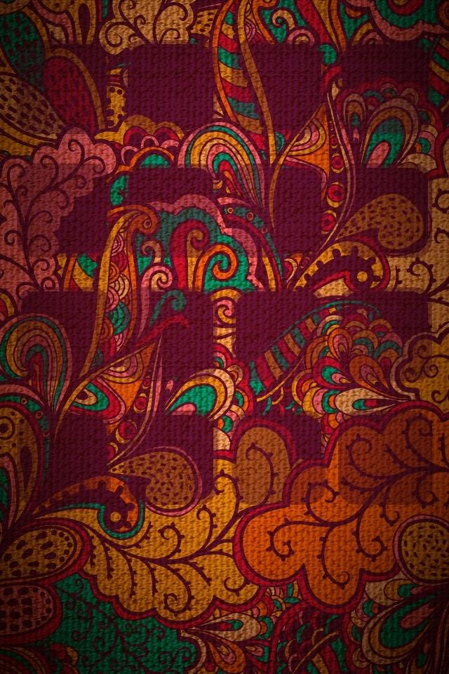 Native American Wallpaper Iphone ॐ American Hippie Psychedelic Art Design Pattern Wallpaper