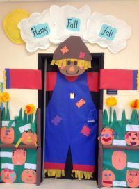 Preschool Door Decorations | ... scarecrow for fall ...