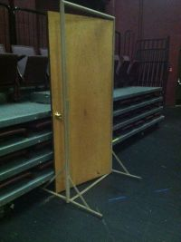 The 7 best images about freestanding theatre doors on ...