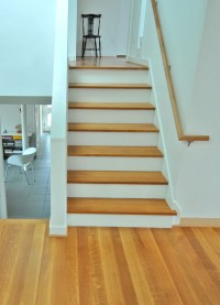 Quarter Sawn White Oak stair treads and flooring | What I ...