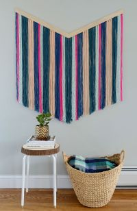 25+ best Yarn Wall Hanging ideas on Pinterest
