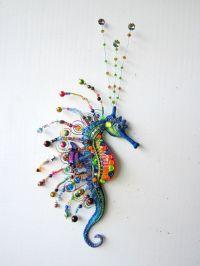 Seahorse wall sculpture,nautical home decor,whimsical wall ...