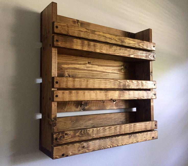 25+ best ideas about Pallet spice rack on Pinterest