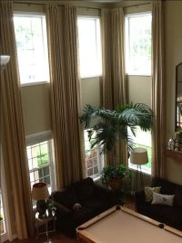 17 Best images about Two Story Drapery Ideas on Pinterest ...